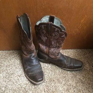 Ariat cowboy boots women's size 9